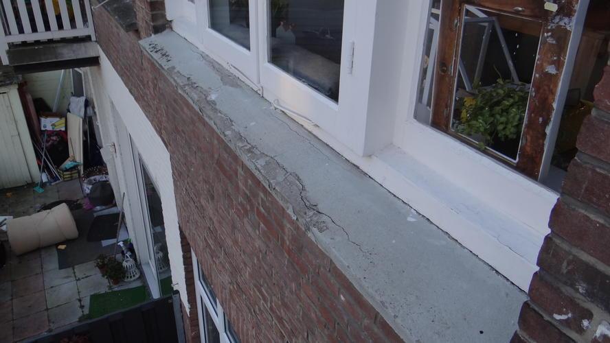 Vloer Voor Balkon : Balkonhek verlengen en schilderen van vloer hek en onderkant