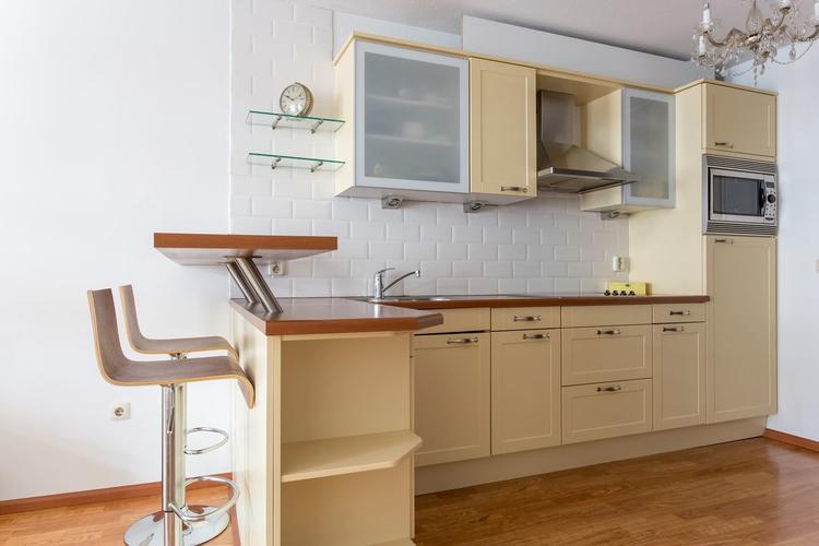 Wand Ikea Keuken : Plaatsen ikea keuken wand stucen koof met spotjes werkspot