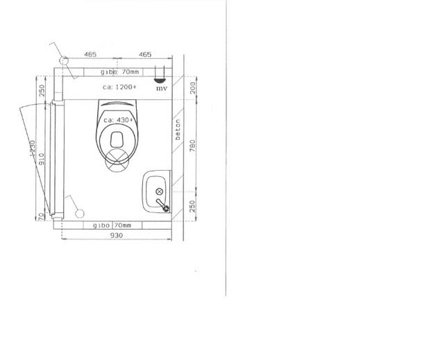 Afmeting Hangend Toilet.Badkamer En Toilet Nieuwbouw Werkspot