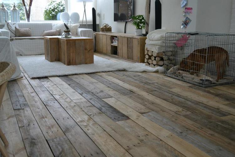 Eikenhouten Vloer Leggen : Houten vloer leggen amsterdam werkspot