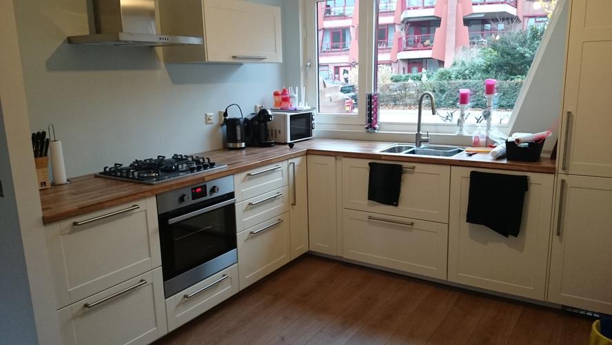Keuken Tegels 10x10 : Keuken tegels 10x10: bruynzeel piet zwart varengroen roomwitte