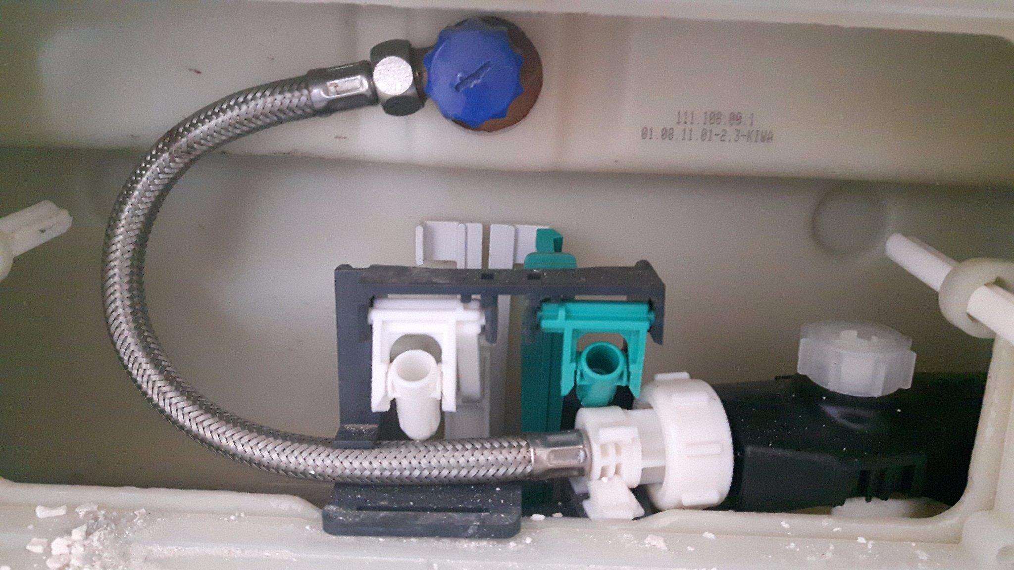 Geberit Hangend Toilet : Reparatie doorspoelsysteem geberit hangend toilet werkspot