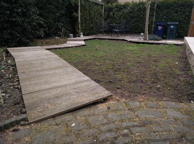 Bankirai vlonder terras en paden herstellen werkspot for Bankirai terras