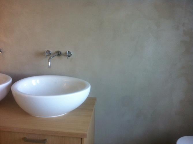 Beton stucen badkamer u devolonter