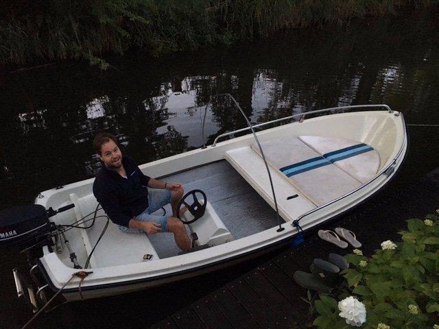Ongekend reparatie boot - stuur kabel naar buitenboord motor vervangen BR-79