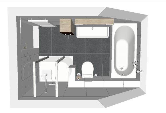 Renovatie badkamer 3,30 x 2,00 meter - Werkspot