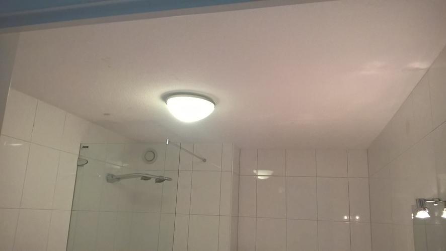 plafond badkamer afsteken en spuiten - werkspot, Deco ideeën