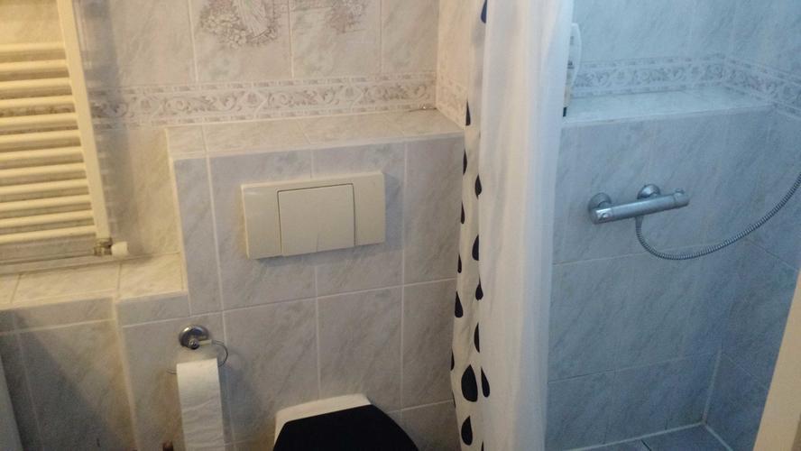 Badkamer renovatie 2.6 x 1.4 meter toilet renovatie 1.4 x 0.8
