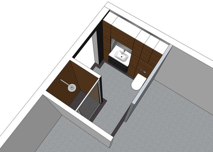 Badkamer vergroten en renoveren werkspot