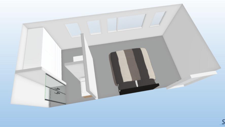 Doucheruimte maken in slaapkamer werkspot
