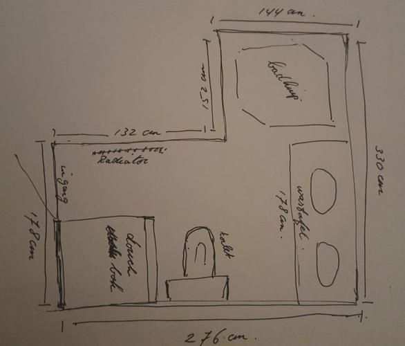 Plaatsen inloopdouche & nieuw toilet & afzuiging badkamer - Werkspot