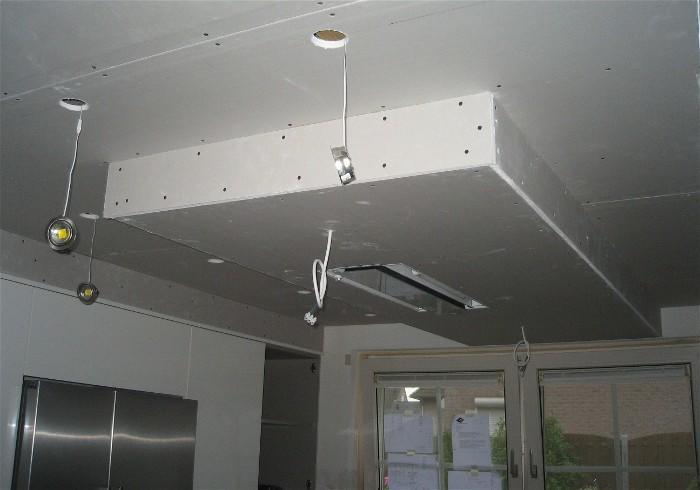 Verlaagd Plafond Woonkamer : Verlaagd plafond maken aan bestaand plafond m midden in