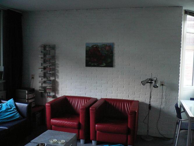muur met steenstrips stucen - Werkspot