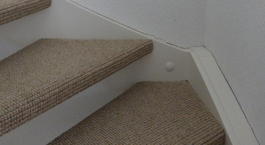 Fabulous Herstellen spachtelputz, witten van spachtelputz, schilderen trap UL68