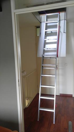 Dakkapel vaste trap naar zolder in plaats van vlizotrap for Van vlizo naar vaste trap