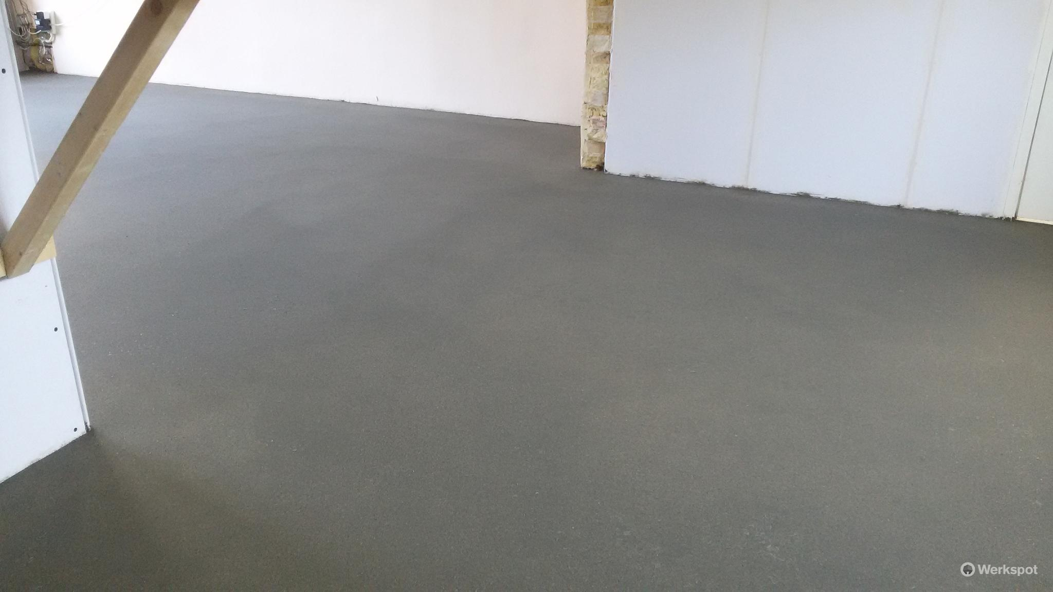 Zand cement vloer parksidetraceapartments
