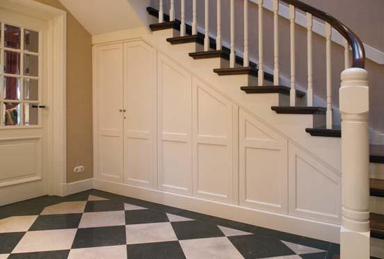 garderobe kast onder trap werkspot