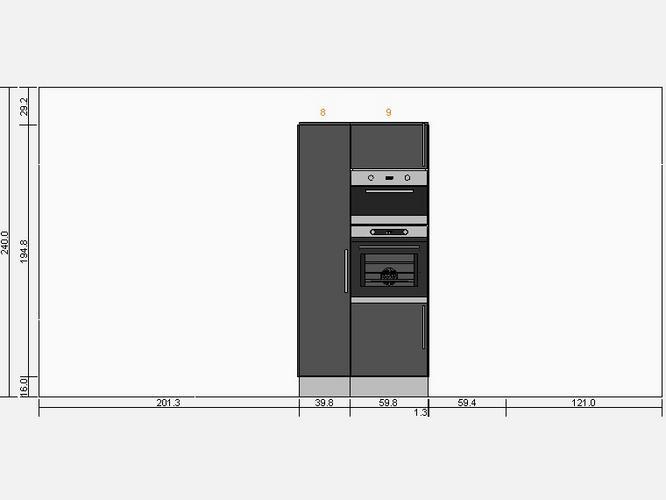 Kast Voor Magnetron : Ikea hoge keukenkast
