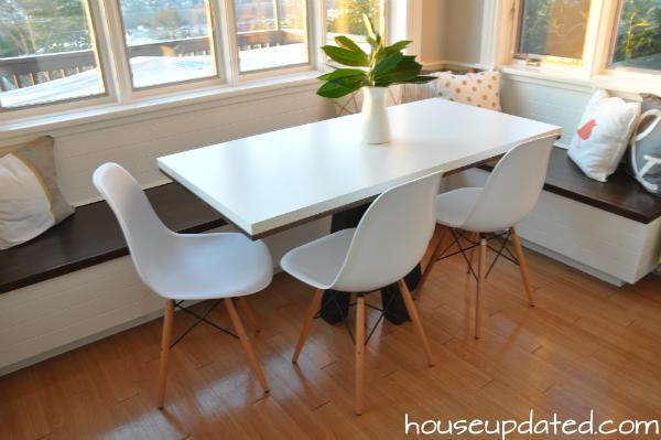 Populair Maken hoekbank voor bij de eettafel van hout - Werkspot &GZ69