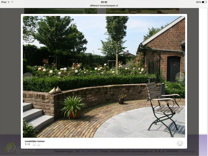 Muurtje in tuin maken met stenen trap werkspot for Trap tuin aanleggen