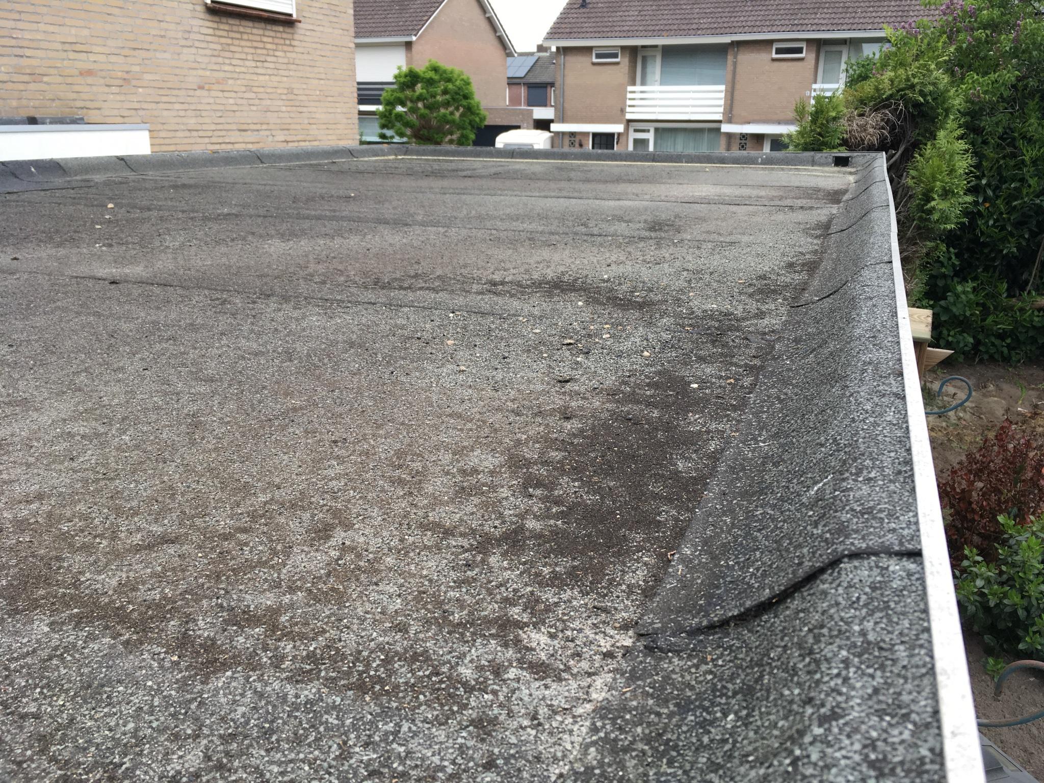 Dak Garage Vervangen : Dakleer plat dak garage vervangen werkspot