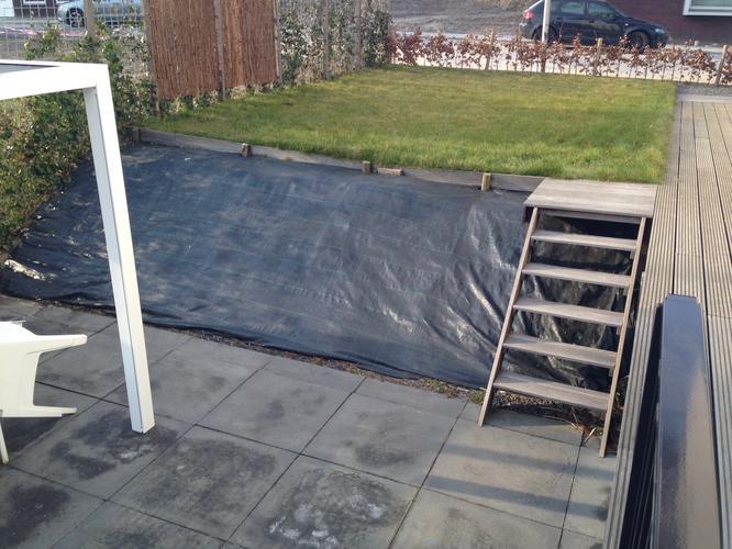 Verwonderend Houten trap tuin - Werkspot LN-31
