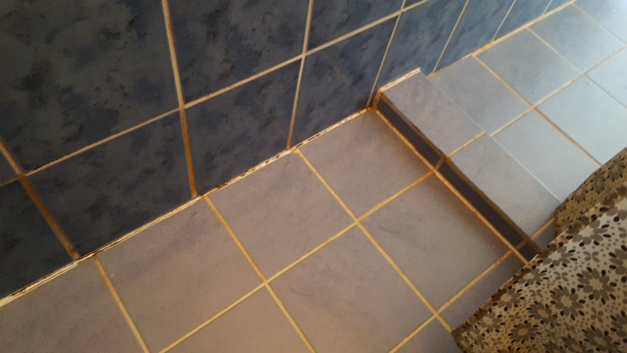 Oude kitlaag verwijderen en nieuwe aanbrengen in badkamer werkspot