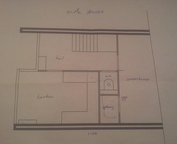 Keuken Onder Trap : Ruimte onder de trap kluswebsite