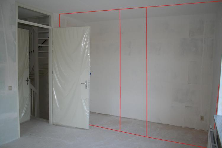Gipsblokken binnenwand plaatsen in nieuwbouw woning werkspot for Behangklaar