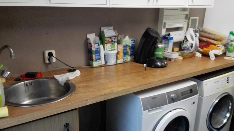 Vervangen Keukenblok In Bijkeuken Door Ikea Keuken Voorraadkast