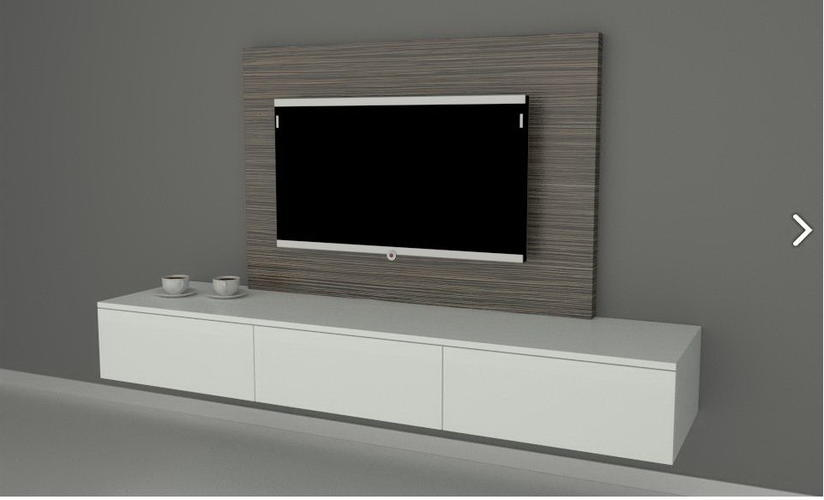 tv wandmeubel paneel werkspot. Black Bedroom Furniture Sets. Home Design Ideas