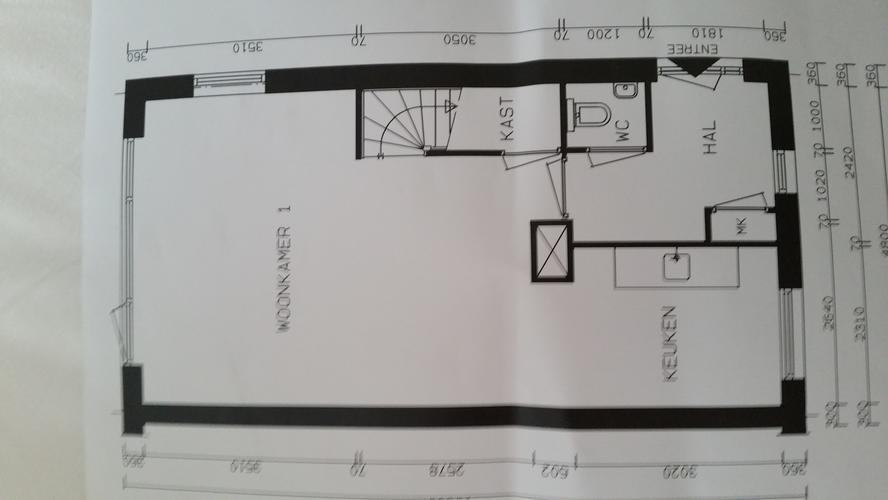 muur uit woonkamer, deur verplaatsen en muur afwerken, Deco ideeën