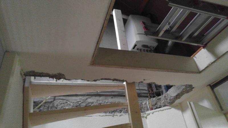 Vaste trap naar zolder in plaats van vlizotrap afmaken for Vlizotrap plaatsen