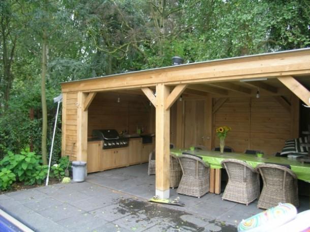 Vrijstaande veranda werkspot for Bouwtekening veranda eigen huis en tuin