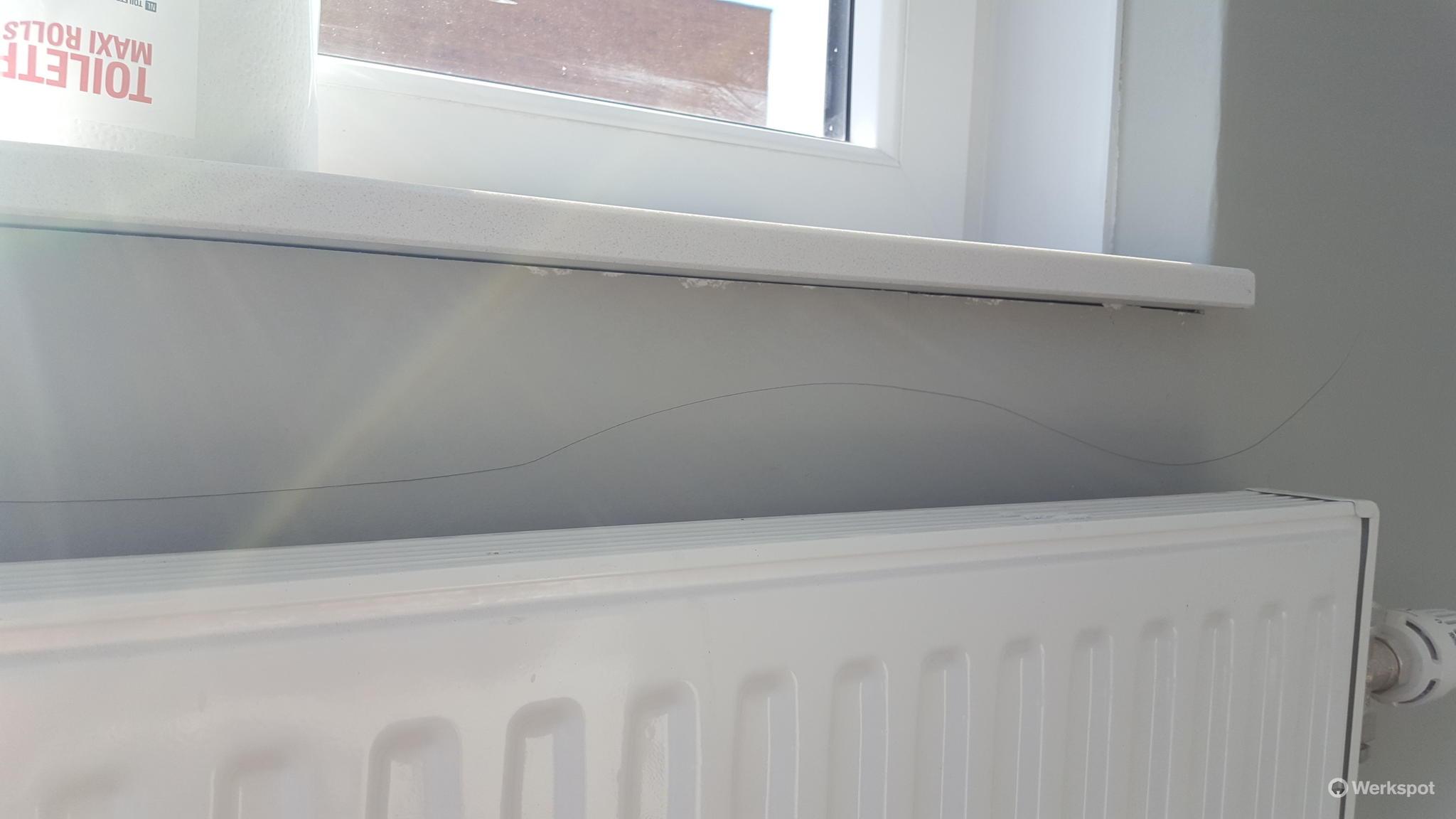 Aanbrengen van renovlies behang alle muren nieuwbouw for Renovlies behang aanbrengen