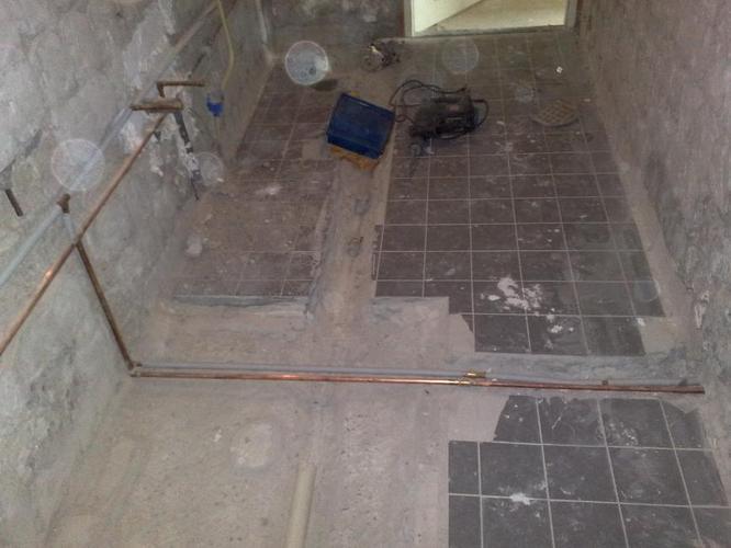 afvoer leggen en vloer storten badkamer - werkspot, Badkamer