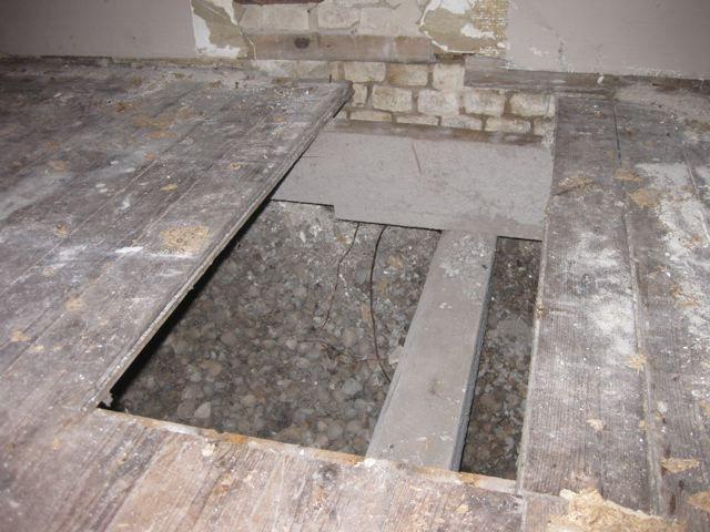 Balkenkoppen vervangen vloerconstructie herstellen isoleren