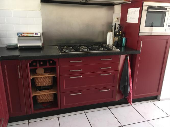 Wrappen keukenkastjes werkspot
