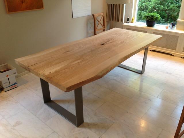 Onderstel voor houten tafel werkspot for Hout voor tafel