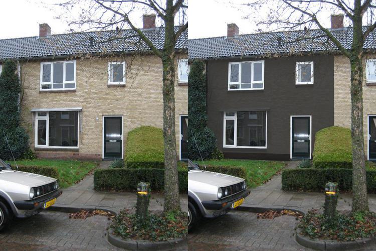 Schoonmaak schilderen buitenmuren van onze woning werkspot for Woning schilderen
