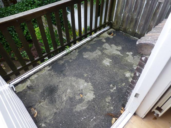 Balkon coating aanbrengen