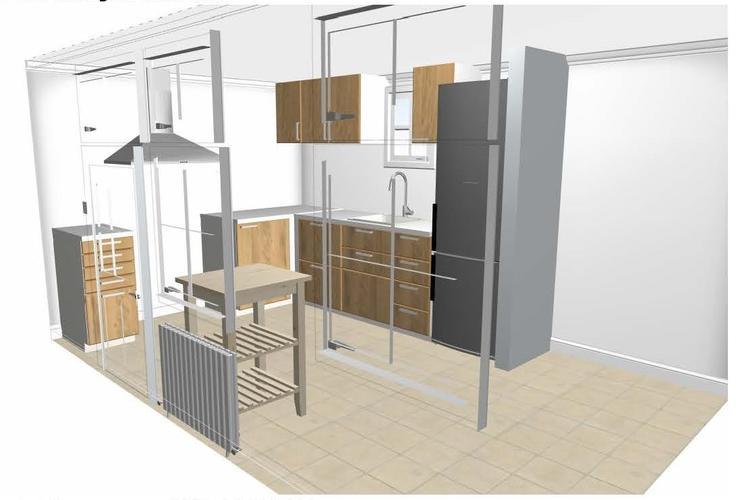 Muur Keuken Kleine : Keukenruimte aanpassen kleine dragende muur uitbreken en keuken
