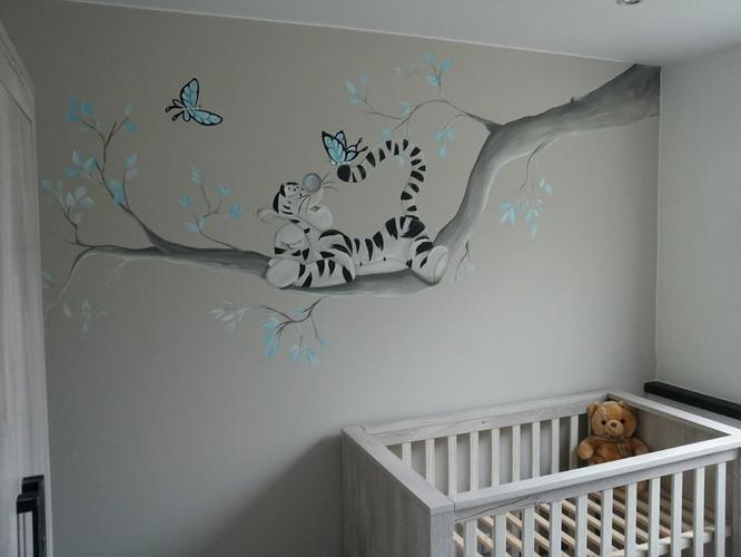Schilderkamer kamer jongen maison design risofu