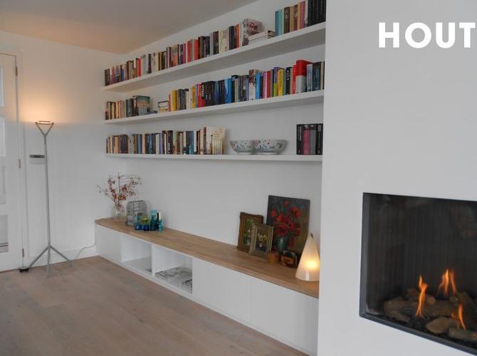 Op maat maken witte (MDF) boekenkast en eventueel tv meubel - Werkspot