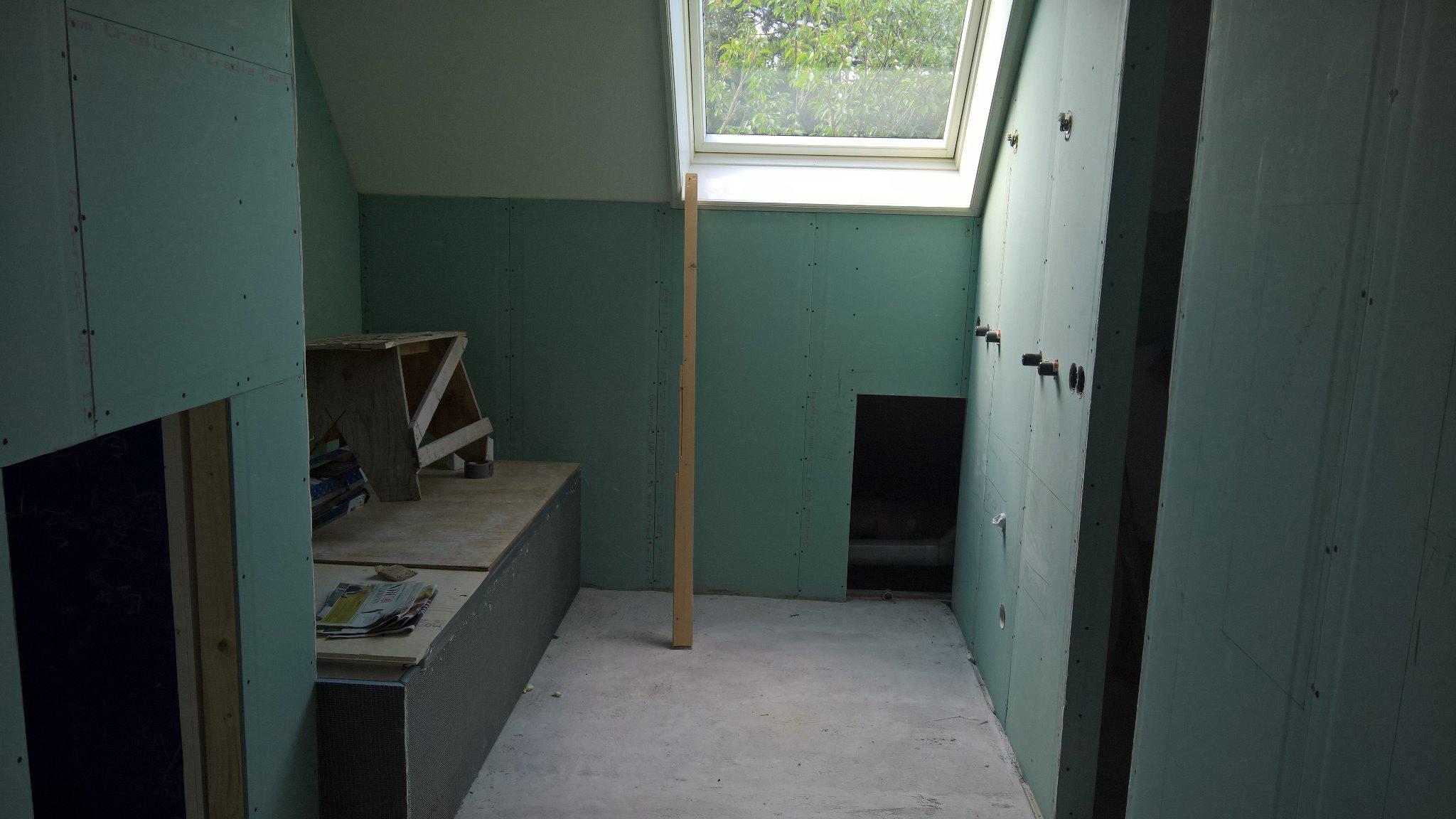 Beton cire aanbrengen badkamer werkspot