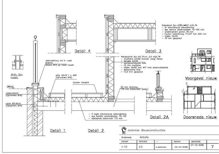 Hsb dakopbouw