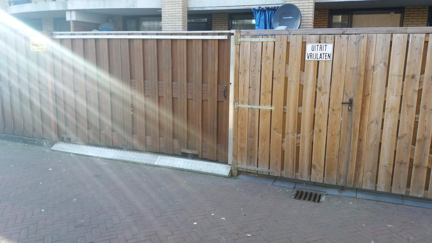 Genoeg Schuifpoort tuin maken van bestaande hek - Werkspot VI27