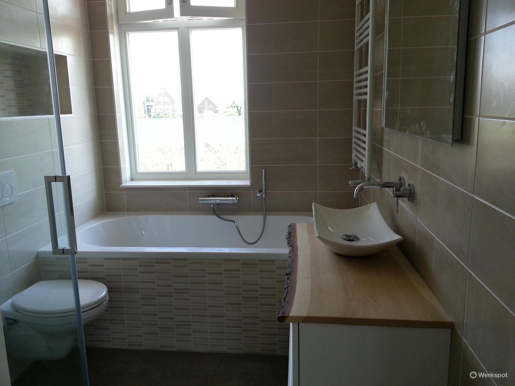 Plaatsen badkamer nieuwbouwwoning werkspot