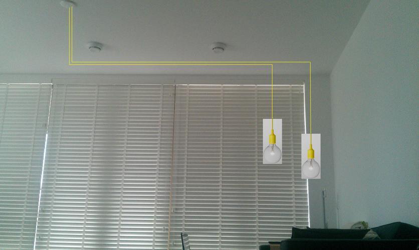 Twee Lampen Ophangen : Twee lampen ophangen en dimmer plaatsen werkspot