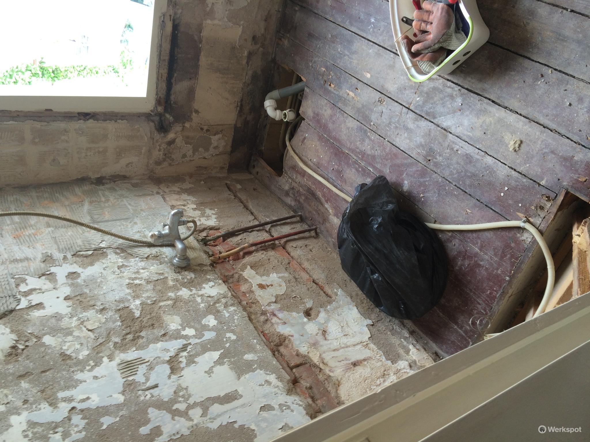 Badkamer slopen werkspot
